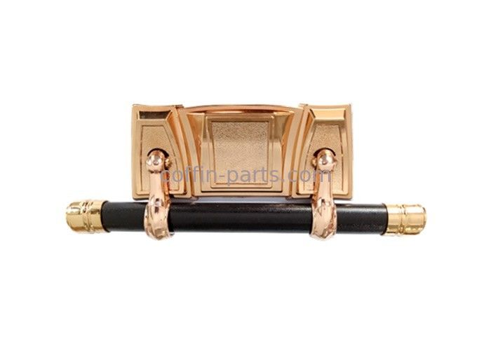 Coffin Decoration Casket Swing Bar Funeral Polished Copper Color Customized